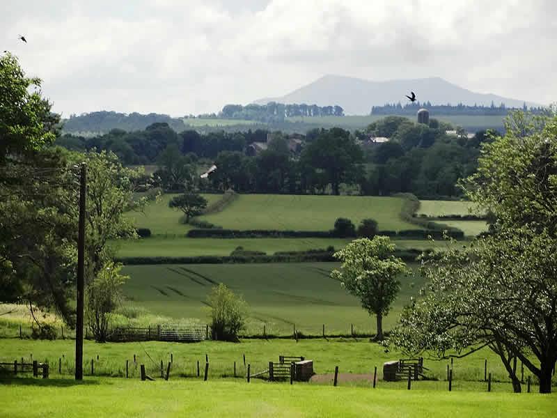 View-to-Blencathra-Footpath-walk-to-Skelton-Village